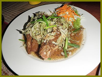 Thai orchid restaurant for Deep fried whole fish