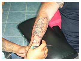 Dragon Koi Fish Tattoo Forearm